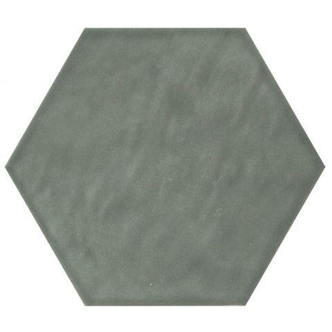 Cifre Vodevil hexagon 17,5 x 17,5 cm Jade glanzend (37 stuks)