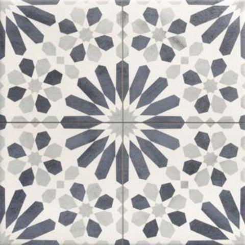 Realonda Marrakech tegel 44 x 44 cm decor blue (7 stuks)