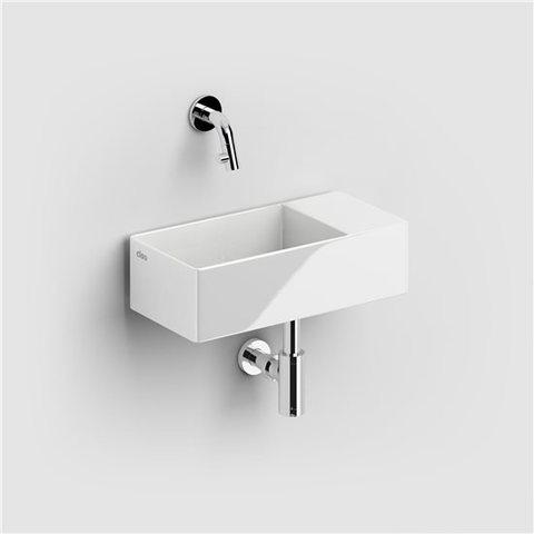 Clou New Flush 3 - 35 cm fontein zonder kraangat wit keramiek