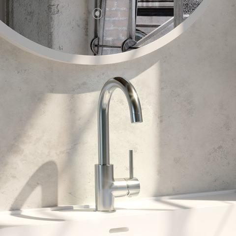Brauer Chrome Edition wastafelkraan hoog - hendel 1 - chroom