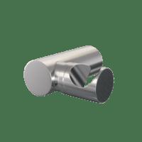 Brauer Brushed Edition wandhouder geborsteld nikkel PVD