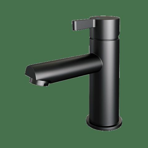 Brauer Black Edition wastafelkraan - hendel 2 - mat zwart