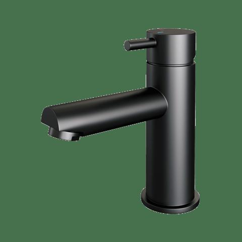 Brauer Black Edition wastafelkraan - hendel 5 - mat zwart