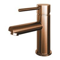 Brauer Copper Edition wastafelkraan - hendel 1 - geborsteld koper PVD