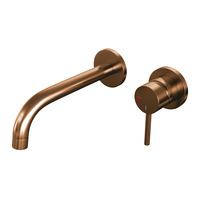 Brauer Copper Edition wastafelkraan inbouw geborsteld koper PVD