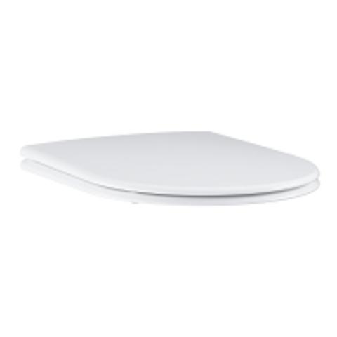 Grohe Essence Ceramic closetzitting met deksel wit wit