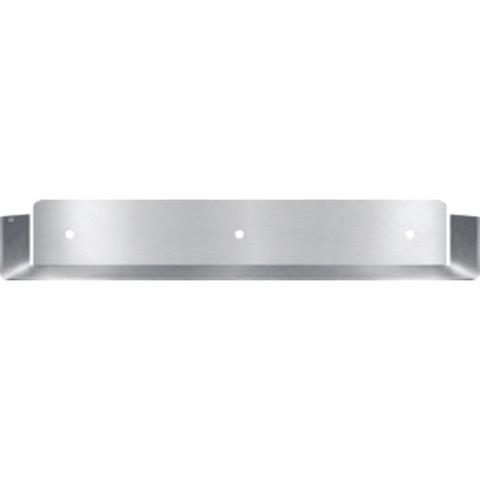 Looox Colour Shelf inbouw planchet 60x10cm. geborsteld  rvs geborsteld rvs
