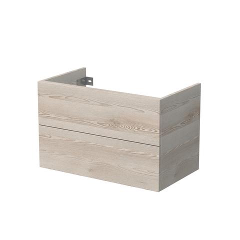 Blinq Veille wastafelonderkast 80x45,5x 50 2 la gebleekt natuur