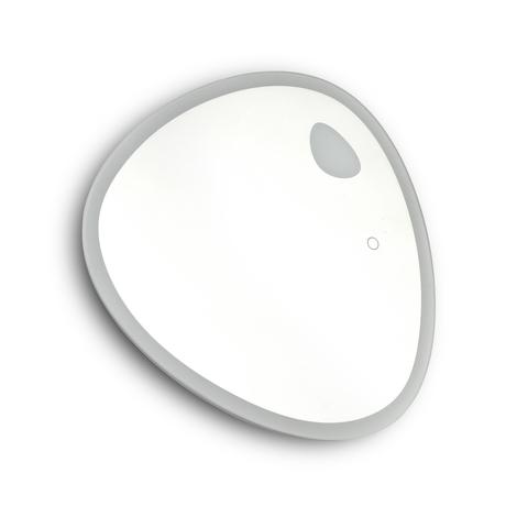 Blinq Intent spiegel asymmetrisch 50x50cm met LED verlichting