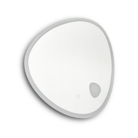 Blinq Intent spiegel asymmetrisch 60x60cm met LED verlichting