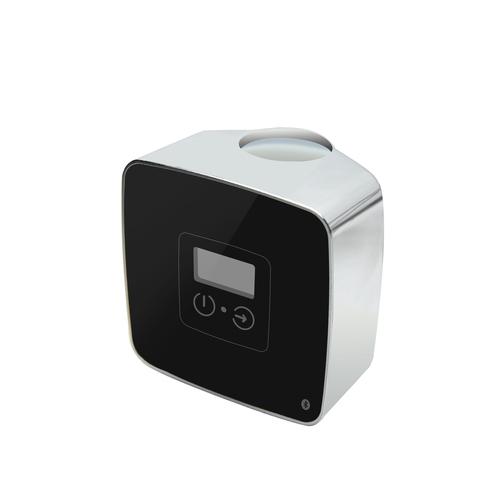 Blinq Altare thermostaat voor electrische radiator zwart/chroom