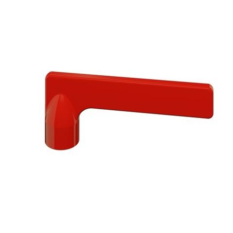 vtwonen baden Grip hendel voor kraan rood