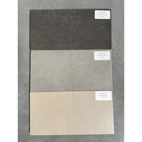 Blinq Carta tegel 30x60 - Antraciet