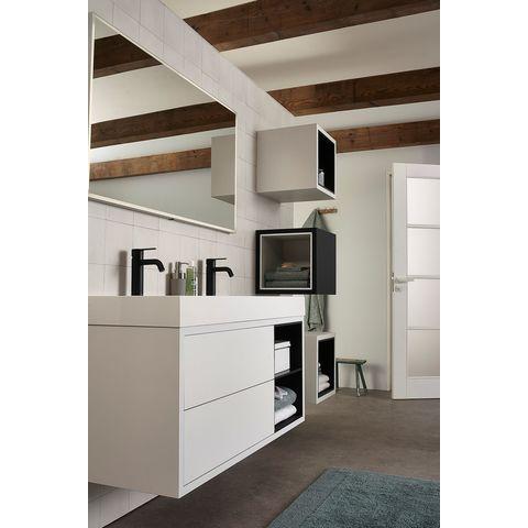 Bruynzeel Box Nis voor onderbouwkast 90cm- zijde zwart