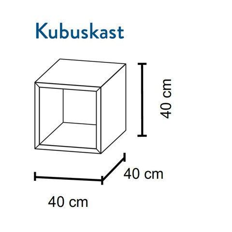 Bruynzeel Box kubuskast (1 stuk) - natuur eiken
