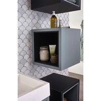 Bruynzeel Box inschuifnis voor kubuskast - zijdeglans zwart