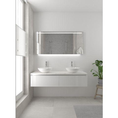 Bruynzeel Giro Onderbouwkast 150cm- glans wit