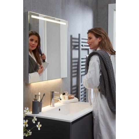 Bruynzeel Matera badmeubelset 80 cm | spiegel- mat wit