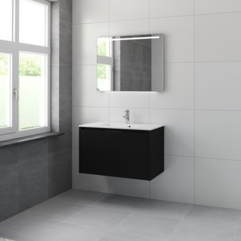 Bruynzeel Matera Onderbouwkast 90cm- zijde zwart