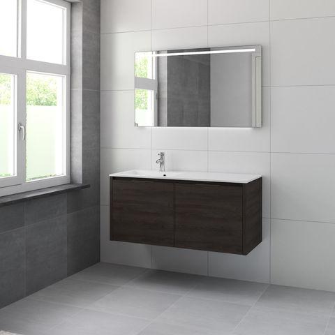 Bruynzeel Matera Onderbouwkast 120cm voor wastafel links/rechts- gladstone