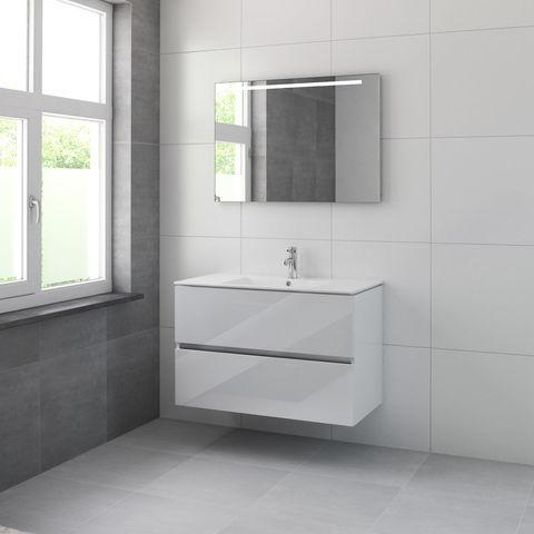 Bruynzeel Miko Onderbouwkast 100cm- glans wit