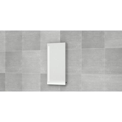 Bruynzeel Pocco Fonteinmeubelset 40 cm | spiegel- kasjmier grijs