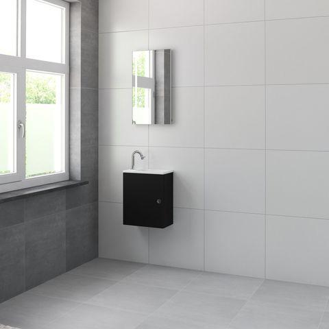 Bruynzeel Pocco Onderbouwkast 40cm | L/R- zijde zwart