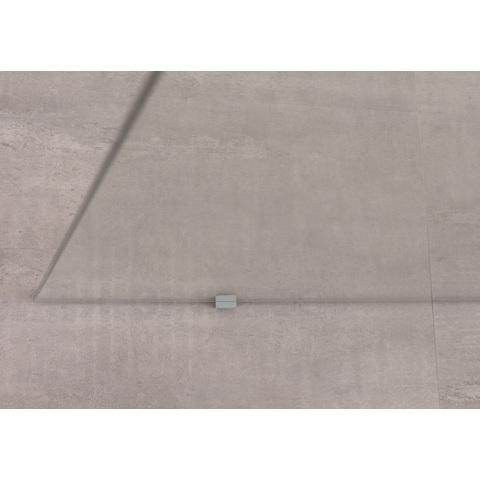 Bruynzeel Lector inloopdouche vrijstaand 130cm - plafondsteun - aluminium
