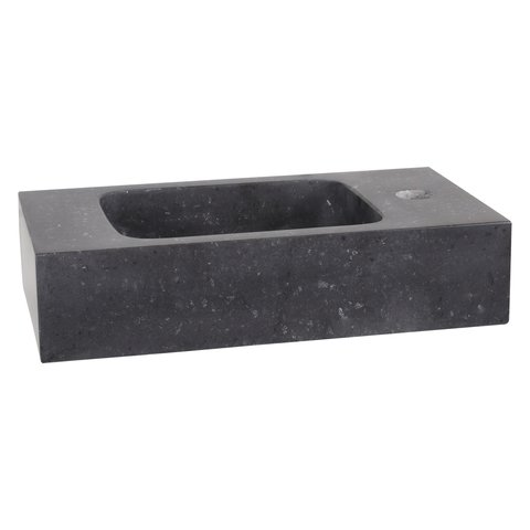 Differnz Bombai Black fonteinset - kraan recht - mat zwart