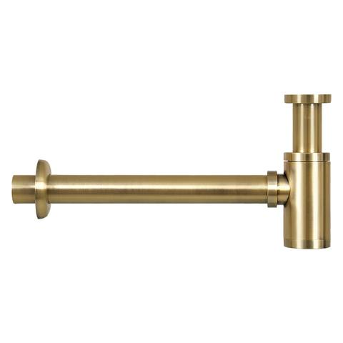 Differnz Cleo fonteinset - kraan gebogen - keramiek - mat goud