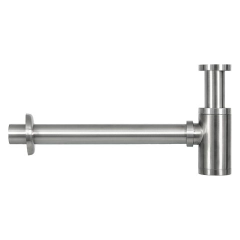 Differnz Ravo fonteinset - kraan gebogen - beton donkergrijs - mat chroom