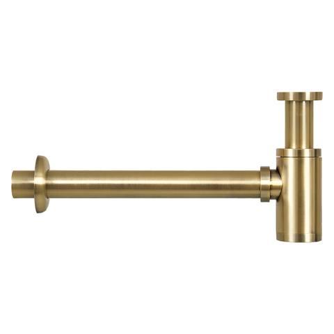 Differnz Ravo fonteinset - gebogen - beton donkergrijs - mat goud