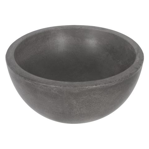 Differnz Ruz waskom 25cm - beton - zwart
