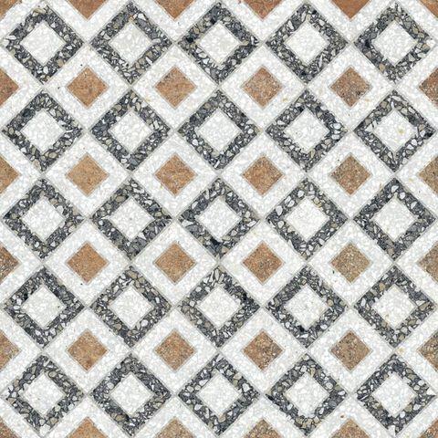 Paul en Co Terrazzo tegel 25x25 cm Casale Borgo grigio