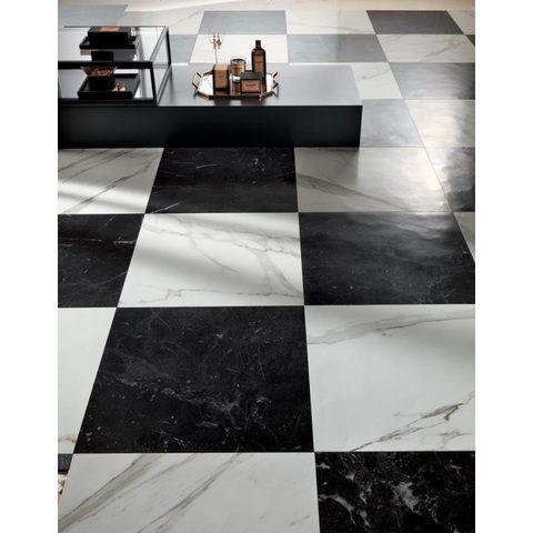 Fap Roma Statuario marmerlook tegel 60x60 - mat wit