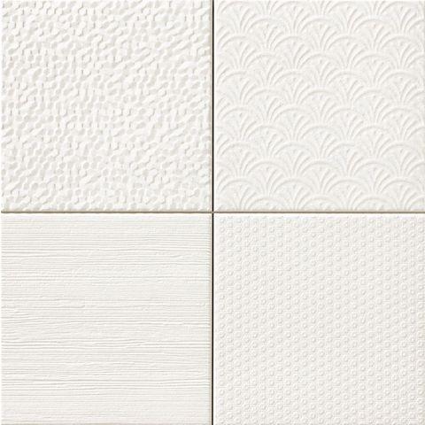 Realonda Glint wandtegel 42,2x42,2 - Blanco