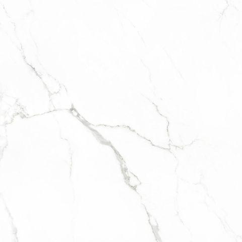 Cifre Statuario marmerlook tegel 75x75 - wit glans