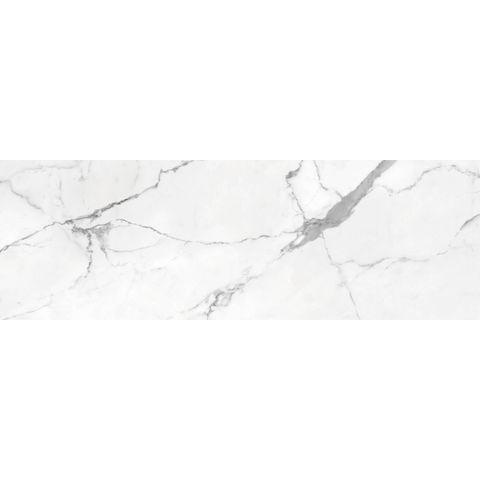 Cifre Statuario marmerlook tegel 40x120 - wit glans