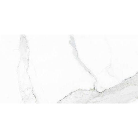 Cifre Statuario marmerlook tegel 30x60 - wit glans