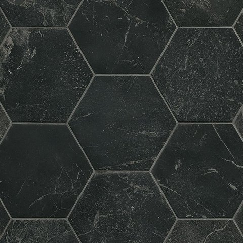 Fap Hexagon Roma Grafite mat 20x25