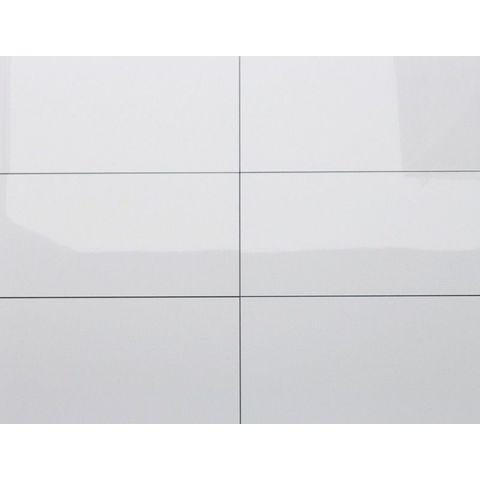 Kerabo wandtegel 30x60 - Glans wit - gerectificeerd