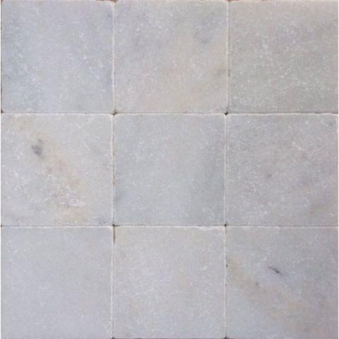 Kerabo Anticato marmer tegel 10x10 - Wit
