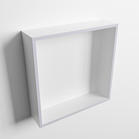 Mondiaz Easy nis 29,5x29,5cm solid surface - Cale / Talc - 1 vak
