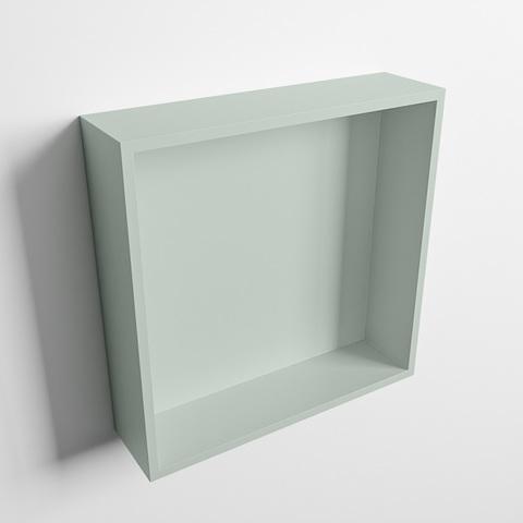 Mondiaz Easy nis 29,5x29,5cm solid surface - Greey / Greey - 1 vak