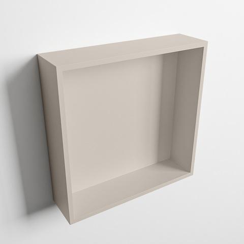 Mondiaz Easy nis 29,5x29,5cm solid surface - Linen / Linen - 1 vak