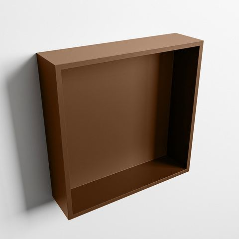 Mondiaz Easy nis 29,5x29,5cm solid surface - Rust / Rust - 1 vak