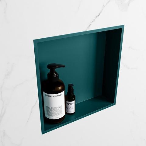 Mondiaz Easy nis 29,5x29,5cm solid surface - Smag / Smag - 1 vak
