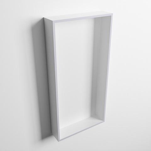 Mondiaz Easy nis 59,5x29,5cm solid surface - Cale / Talc - 1 vak
