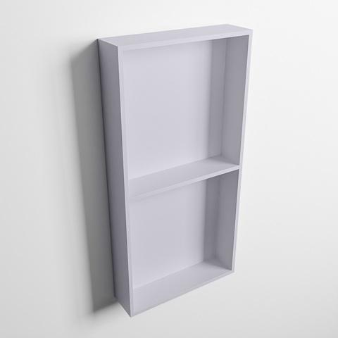 Mondiaz Easy nis 59,5x29,5cm solid surface - Cale / Cale - 2 vakken