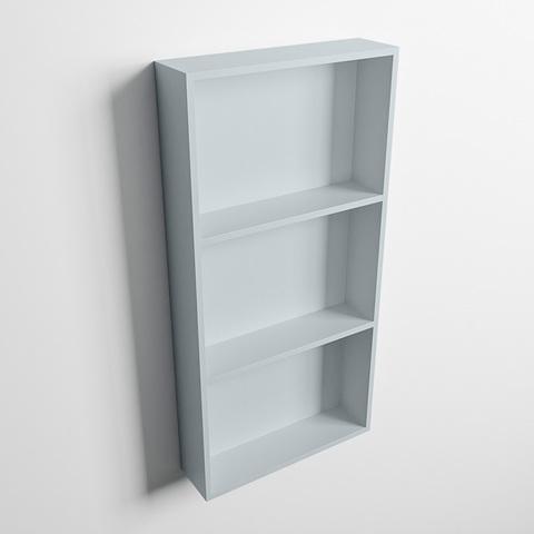 Mondiaz Easy nis 59,5x29,5cm solid surface - Clay / Clay - 3 vakken